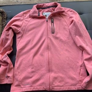 Columbia jacket size med. It is pink!